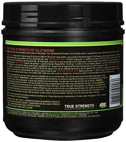 Optimum Nutrition Glutamine Powder, 1er Pack (1 x 600 g) - 2