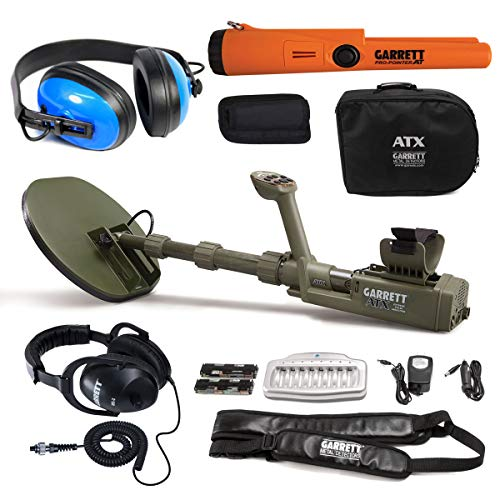 Garrett ATX Extreme Pulse Induction with Pro Pointer at & Waterproof Headphones