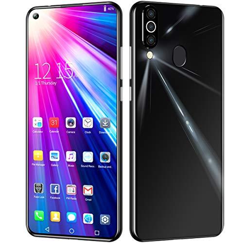 m40Pro, 4G Teléfono Móvil Resistente Impermeable Robusto 6.6Inch, 8GB/256GB, 4800mAh Batería, Android 9.1 SIM Doble Smartphone, 13MP+26MP Cámaras, Face ID/GPS/GLONASS USB