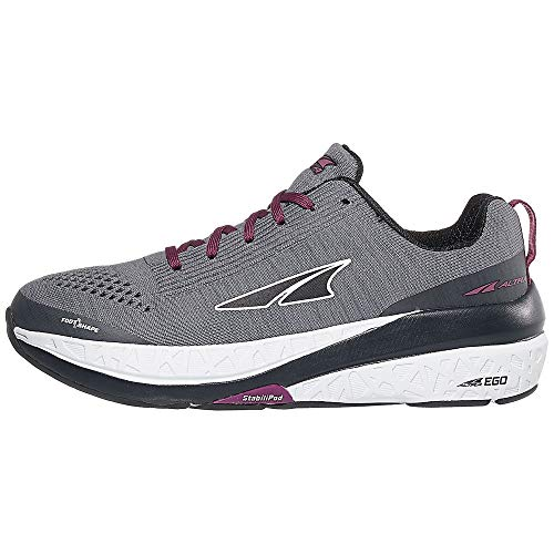ALTRA Women's Paradigm 4.5 Road Running Shoe, Gray - 6 M US