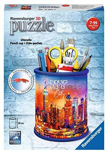 Ravensburger 3D Puzzle 11201 - Utensilo Skyline - 54 Teile