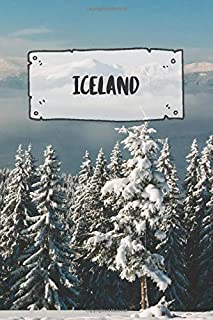 Iceland: Ruled Travel Diary Notebook or Journey Journal - Lined Trip Pocketbook for Men and Women with Lines