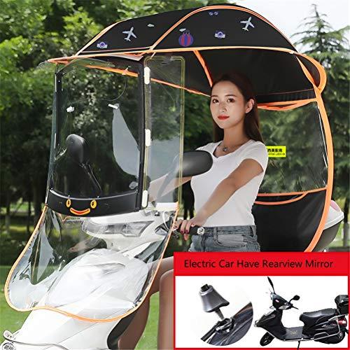 Motorfiets Paraplu Zonnescherm Regenhoes, Universele Auto Motor Scooter Paraplu Mobiliteit Zonnescherm Regenhoes Waterdicht