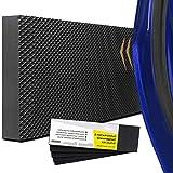 Fansport Protezione Pareti Garage Paraurti Auto da Muro 5pcs Paracolpi Box Auto Set Portiera Paraurti Adesivo(Addensato: 40 * 12 * 1,5 cm-ciascuno)