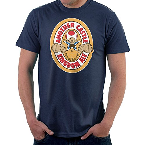Another Castle Kingdom Ale Newcastle Brown Mario Toad Men's T-Shirt
