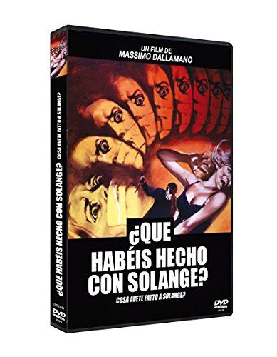 ¿Qué habéis hecho con Solange? DVD  1972 Cosa avete fatto a Solange?
