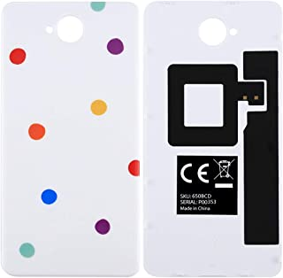 209925 Direct Factory Smartphone Replacement Parts Mobile Phone Repair KitFor Microsoft Lumia 650 Colorful PC Material Back Cover with NFC Sticker Mobile Phone Parts (Color : Color3)