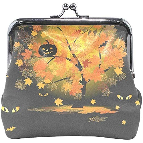 Geldbörse Halloween Owl In Witch Costume Damen Geldbörse Clutch Bag Girls Small Purse