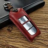 QCCOKNN Handgemachtes Keypack, für Volkswagen Passat Unique Car Bag Key Case Halter, für...