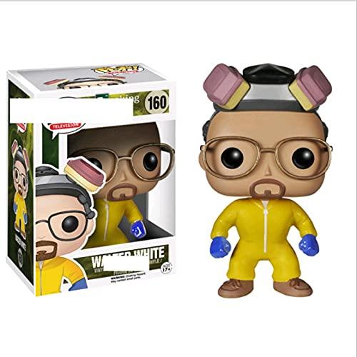 Pop Breaking Bad Heisenberg Saul Goodman Walter White # 160 con Caja Figura De Acción Juguetes Colección Modelo De Juguete para Niños