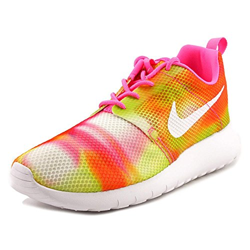 Nike Mädchen, Unisex Kinder Sneaker Low Roshe One Flight Weight (GS)