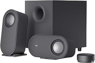 Logitech Z407 Bluetooth Altavoces para ordenador con subwoofer y control inalámbrico, Sonido inmersivo, Audio premium con ...