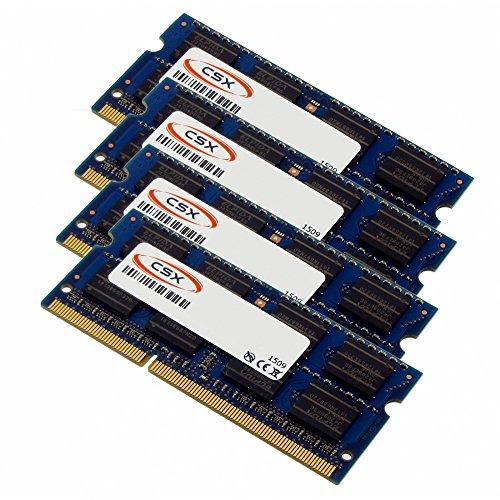 MTXtec 64GB (4x16GB) RAM Kit für Apple iMac 27'' (06/2017), DDR4 2400MHz, PC4-19200
