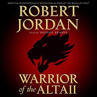 Warrior of the Altaii audiobook cover art