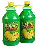 Realemon Juice 100% Lemon Juice 2 48 oz bottles