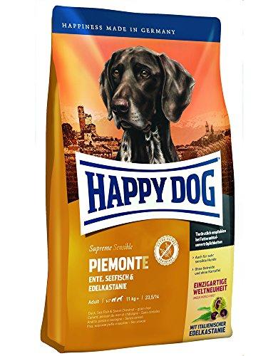 HAPPY DOG (ハッピードッグ) スプリーム ピエモンテ (栗、ダック&シーフィッシュ) グルテン、グレイン、ポ...