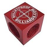 Bulletproof Break Tips Cube2 5 Tools in 1 Pool Cue Tip Maintenance, Tapper, Perforator, Shapers - The Greatest Tip Tool Ever Created!