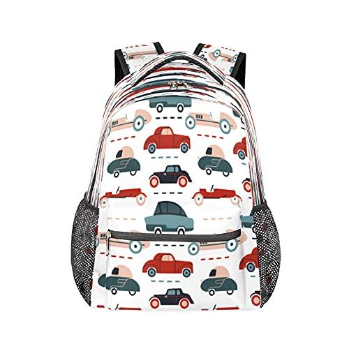 Mochila divertida para el coche, resistente al agua, para la escuela, para la computadora, para viajes, senderismo, camping, bolsa de hombro para mujeres y hombres