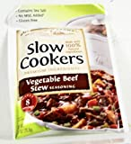 Slow Cooker Vegetable Beef Stew Mix-6 packages