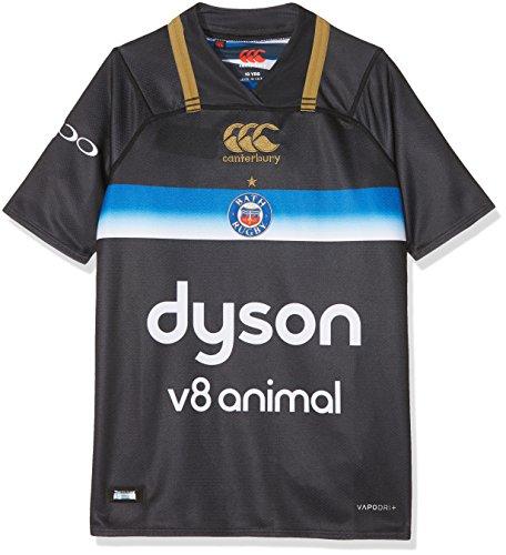 Offizielles Badetuch Kinder Rugby Vapodri Plus Short Sleeve 3. Pro Jersey L schwarz