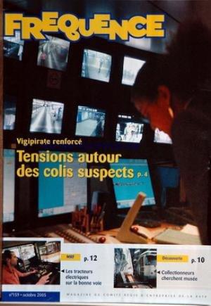 FRECUENCIA [No 159] del 10/01/2005 - VIGIPIRATO REFORZADO - PAQUETES SOSPECHADOS - TRACTORES ELÉCTRICOS - COLECCIONISTAS BUSCAN MUSEO