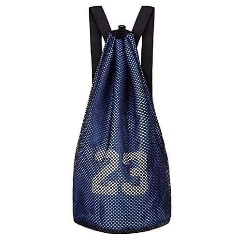 ALIXIN No. 23 pallacanestro bag zaino sacca per palestra sport borsone da viaggio, borse a tracolla zaino per la scuola con grande tasca con zip per ragazzi e adulti