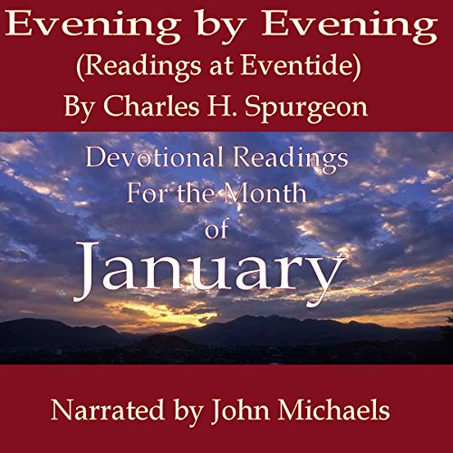Evening by Evening Readings for January audiobook cover art