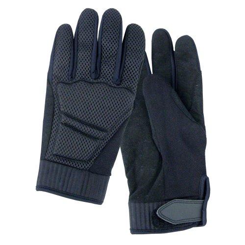 Roleff Racewear Motorradhandschuhe Textil, Schwarz, L