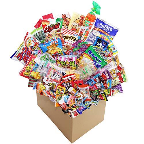 【カエルショップ オリジナル】駄菓子詰め合わせお楽しみ110点特大セット! お誕生日、プレゼントに。イベントやパーティーにもどうぞ。