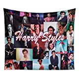 H-a-rry Cool Sty-les Tapestry Wall Hanging 3D Printing Poster Art Wall Decorations for Bedrooms 59.1x51.2 inch