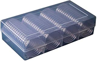 Rongzou Lot de 60 Supports Ronds Transparents 41 mm