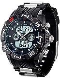 KAOBAN Men's Outdoor Recreation Sport Watch, Multifunction Heavy Duty Design Chronograph Watch