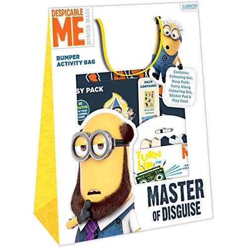 Disney Sac d'activités créatives complet - LES MINIONS Sac à cordon, 32 cm, Jaune