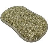KOOK TIME Set de 6 Estropajo cocina mágicos | Estropajo ecológico reutilizable para ahorrar jabón lavavajillas | para fregar y limpiar sin rallar, Medidas 16x9x1.5 cm. Color: Marrón Camel