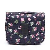 Confortabil Bolsa de aseo de viaje multifuncional, ligera, bolsa de lavado, impermeable, caja de almacenamiento para cosméticos, para mujeres, niñas y niños