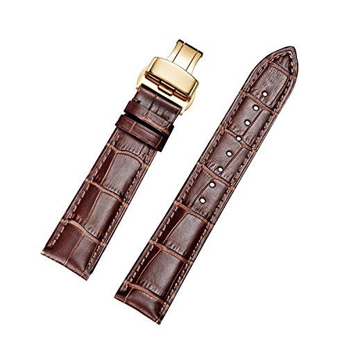 Jiexima vitello cinturini per orologi in pelle di ricambio con...