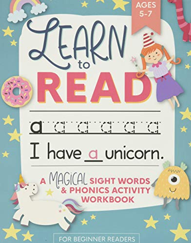 Learn to Read: A Magical Sight Words and Phonics Activity Workbook for Beginning Readers Ages 5-7: R