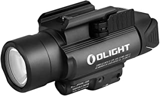 OLIGHT(オーライト) Baldr Pro ウェポンライト フラッシュライト 懐中電灯 1350ルーメン タクティカルライト 緑レーザー付き サバゲー 自衛 CR123A電池*2 (黒)