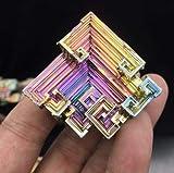 Cristal de bismuth de 30 à 40 grammes et 3,5 à 4,5 centimètres.