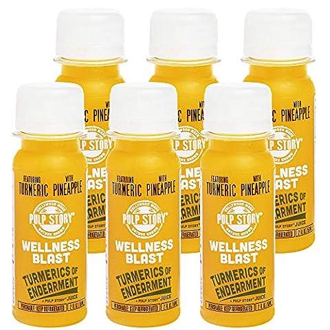 Save on Cold Pressed Juice Shots - Pineapple & Turmeric Juice - - Sale: $35.41 USD (37% off)