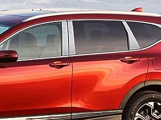 QAA fits 2017-2020 Honda CR-V (6 Piece Stainless Pillar Post Trim) PP17236