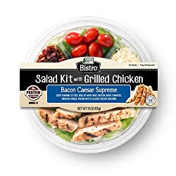 Ready Pac Foods Bacon Caesar Supreme Grilled Chicken Salad Kit, 15 oz