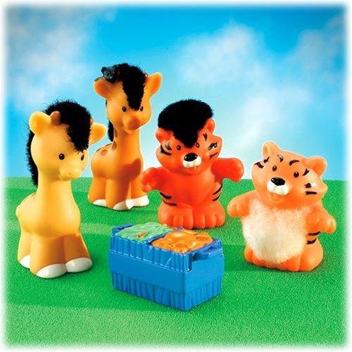 Fisher Price - Jouet Premier Age - Les Animaux de L'Arche : Tigres et Girafes