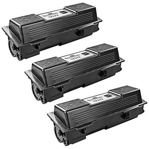 Speedy Inks Compatible Toner Cartridge Replacement for Kyocera-Mita TK-172 (Black, 3-Pack)