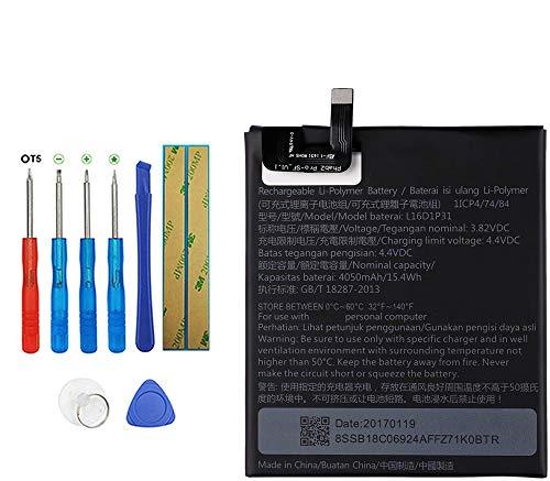 E-YIIVIIL Batería de repuesto L16D1P31 compatible con Lenovo Phab 2 Pro Phab2 Pro PB2-690N con kit de herramientas