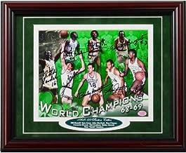 1968-1969 Boston Celtics Autographed Framed 11x14 Photo