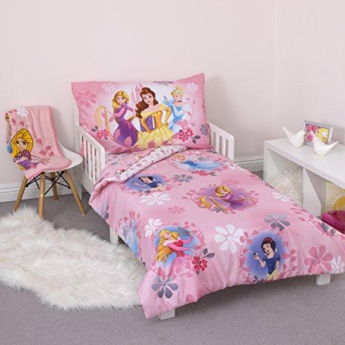 Disney Pretty Princess Parure de lit 4 pièces Rose
