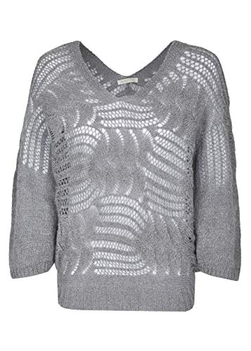 HEIMATLIEBE Oversize Pullover im Häkellook