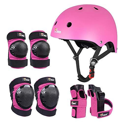 JBM Child & Adults Rider Series Protection Gear Set for Multi Sports...