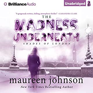 The Madness Underneath audiobook cover art